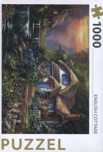, English cottage - puzzel 1000 stukjes