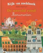 Gérald  Guerlais Kijk- en zoekboek De wereld rond - Monumenten