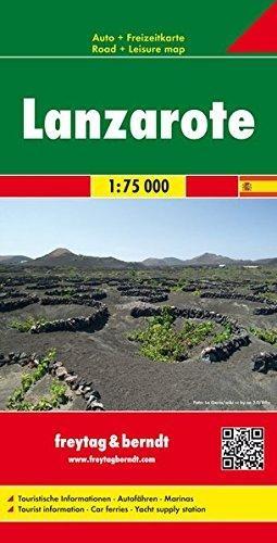 ,Lanzarote 1 : 75 000. Autokarte