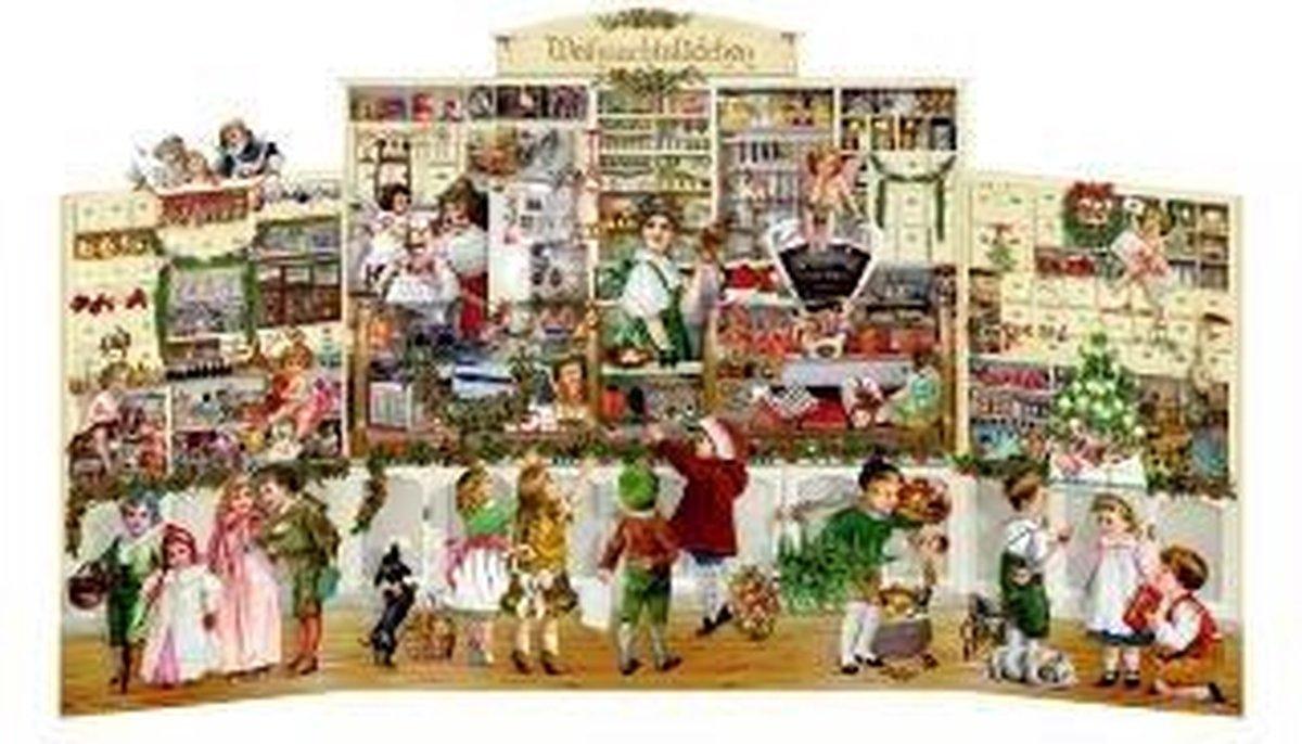 ,Das Weihnachtslädchen Adventskalender