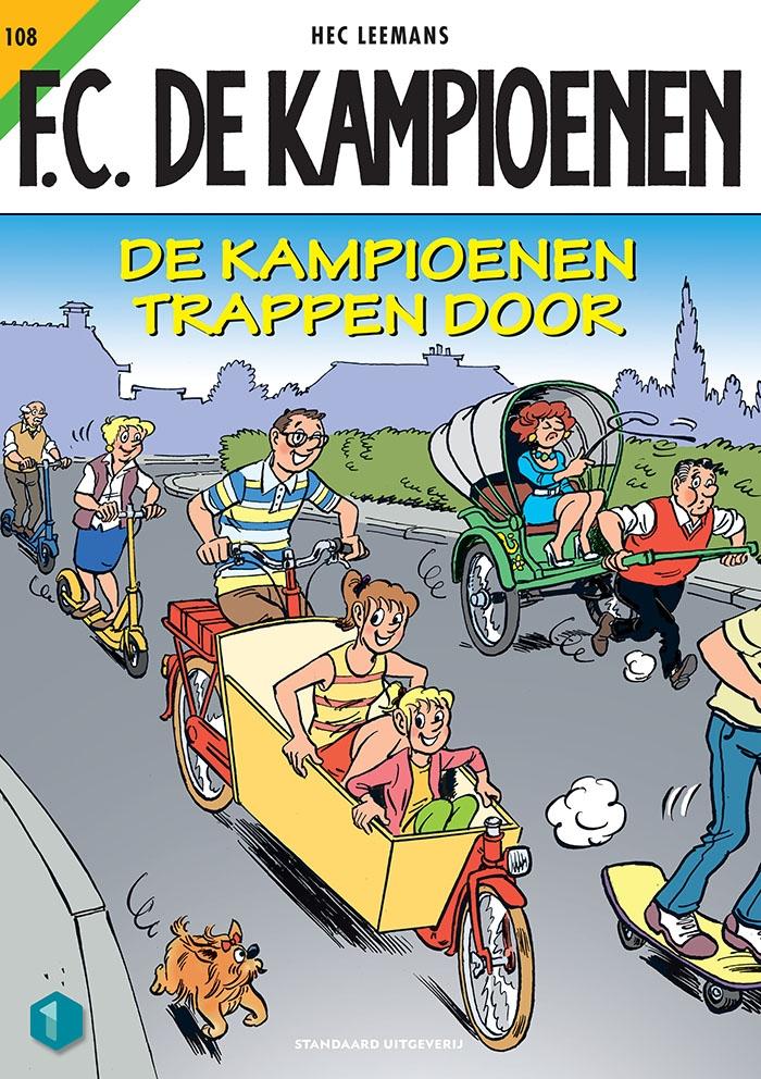 Hec Leemans,De Kampioenen trappen door
