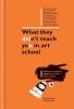 R. Davis, What They Didn't Teach You in Art School