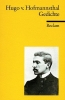 Hofmannsthal, Hugo von, Gedichte