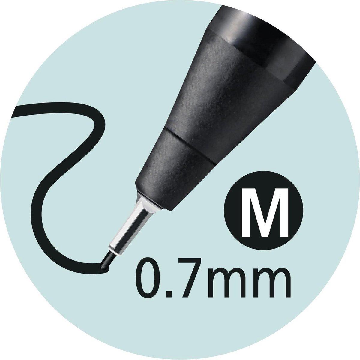 ,Fineliner STABILO Sensor 187 etui à 8 kleuren