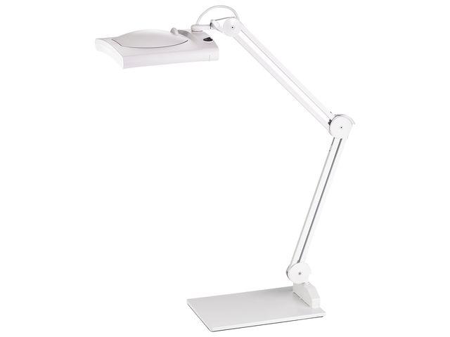,bureaulamp met loep Alco LED wit 12,4 watt 62 LEDS