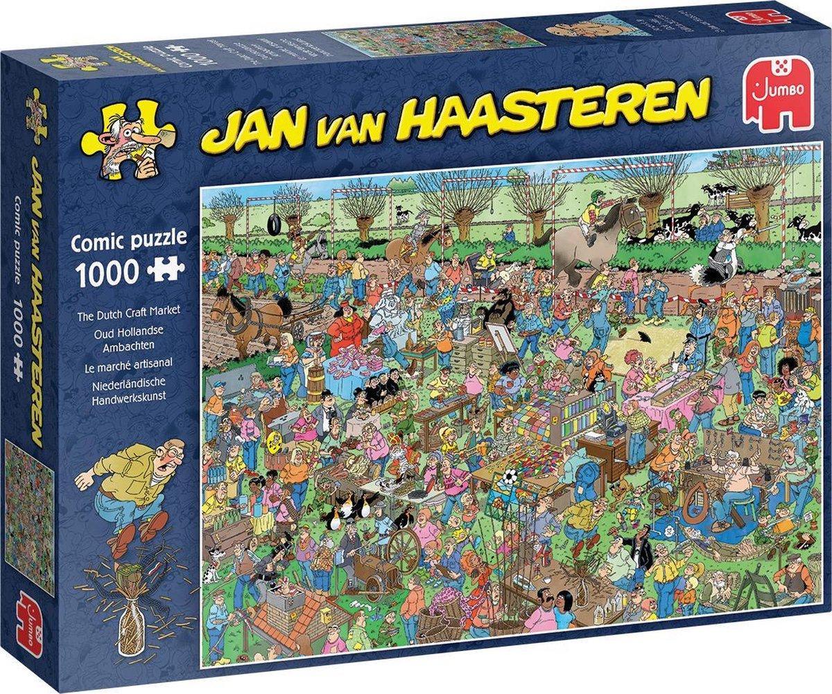 Jum-20046,Puzzel jumbo jan van haasteren oude ambachten 1000 stukjes 68x49 cm