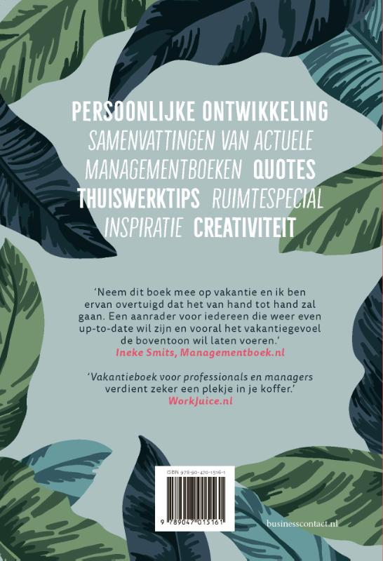 . (red.),Vakantieboek voor professionals en managers