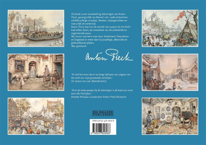 Diversen Diversen,Was getekend Anton Pieck