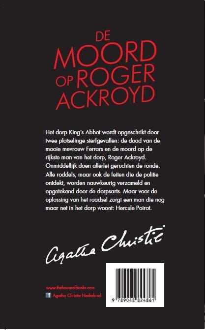 Agatha Christie,De moord op Roger Ackroyd