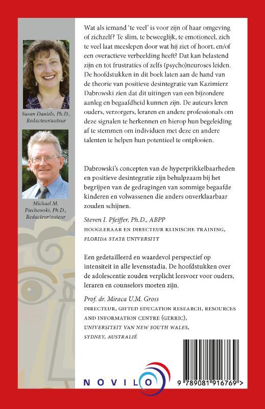 Susan Daniels, Michael M. Piechowski,Leven met intensiteit