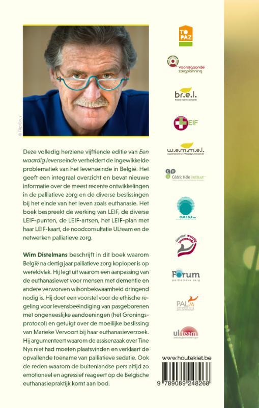 Wim Distelmans,Een waardig levenseinde