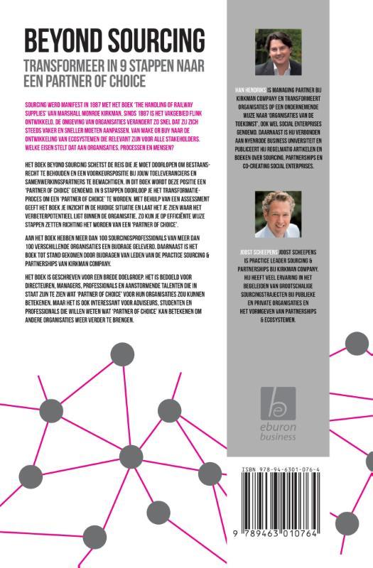Han Hendriks, Joost Scheepens,Beyond sourcing