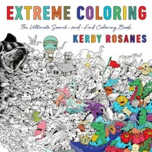 Rosanes, Kerby Animorphia Adult Coloring Book