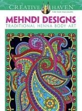 Marty Noble Creative Haven Mehndi Designs Coloring Book