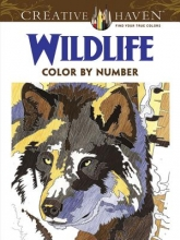 Pereira, Diego Jourdan Creative Haven Wildlife Color by Number Coloring Book