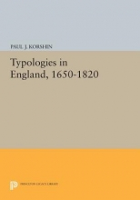 Korshin, Paul J. Typologies in England, 1650-1820