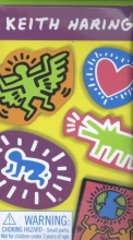Haring, Keith Haring*Keith Haring Wooden Magnetic Shapes