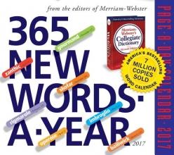 365 New Words-a-Year 2017 Calendar