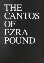 Pound, Ezra The Cantos of Ezra Pound