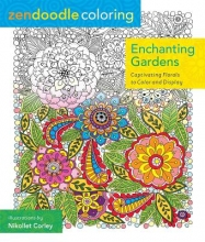 Enchanting Gardens Adult Coloring Book
