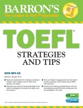Sharpe, Pamela J., Ph.D. Barron`s TOEFL Strategies and Tips