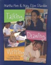 Martha Horn,   Mary Ellen Giacobbe Talking, Drawing, Writing