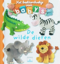 E.  Beaumont Beeldenboekje voor baby`s De wilde dieren