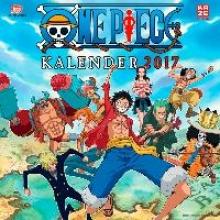Oda, Eiichiro One Piece - Wandkalender 2017
