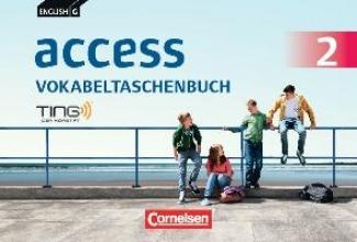 Tröger, Uwe,   Rademacher, Jörg English G Access 02: 6. Schuljahr. Vokabeltaschenbuch