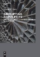 George E. Yoos Simplifying Complexity