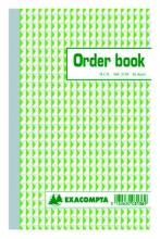 , Orderboek Exacompta 210x135mm 50x2vel