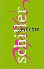 Schiller, Friedrich von Gedichte