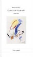 Meister, Ernst Gedichte in 15 Bänden Es kam die Nachricht