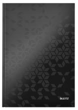 , Noitieboek Leitz WOW A4 lijn zwart