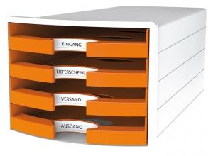 , Ladenkast HAN Impuls met 4 open laden oranje