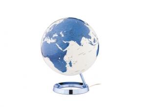 , Globe Bright HOT blue  30cm diameter kunststof voet met     verlichting