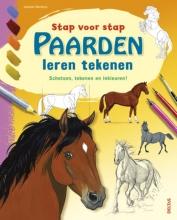 Isabelle  Mandrou Stap voor stap paarden leren tekenen
