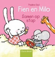Pauline Oud , Fien en Milo samen op stap