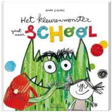 Anna  Llenas Het kleurenmonster gaat naar school