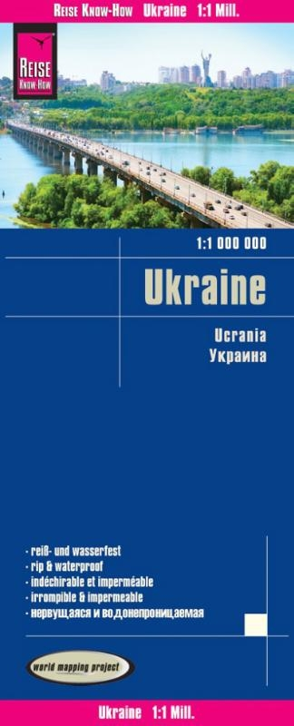 ,Reise Know-How Landkarte Ukraine (1:1.000.000)
