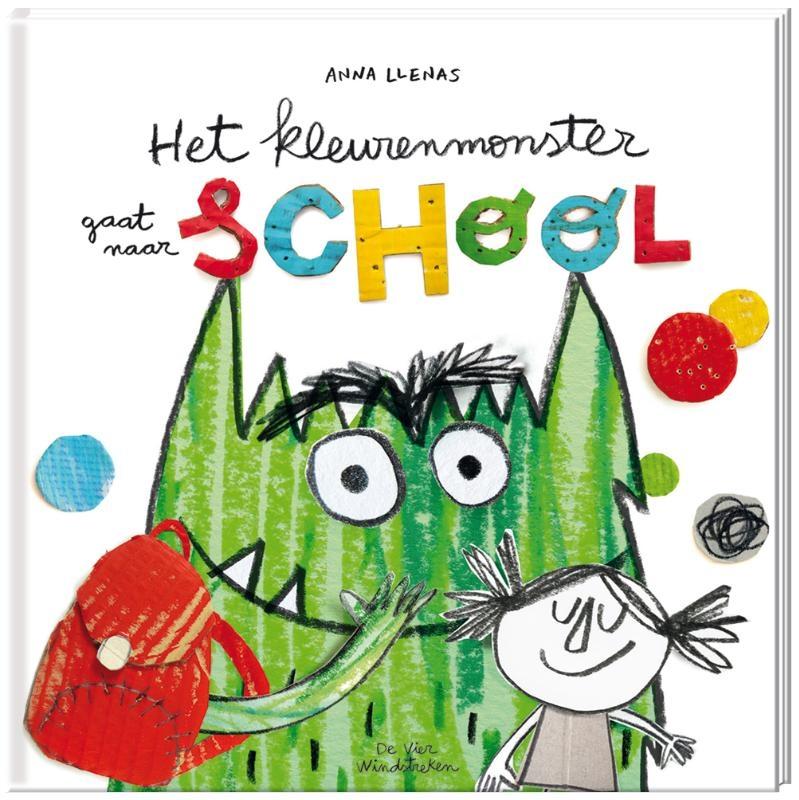 Anna Llenas,Het kleurenmonster gaat naar school