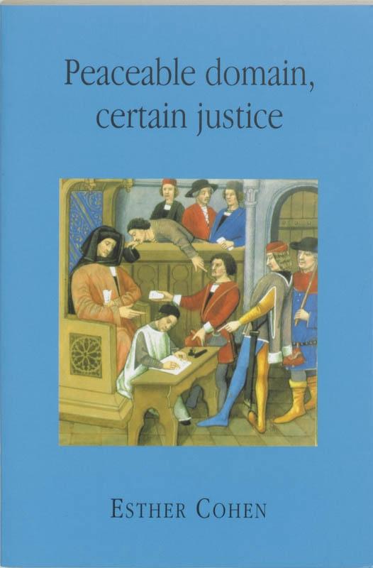 E. Cohen,Peaceable domain, certain justice