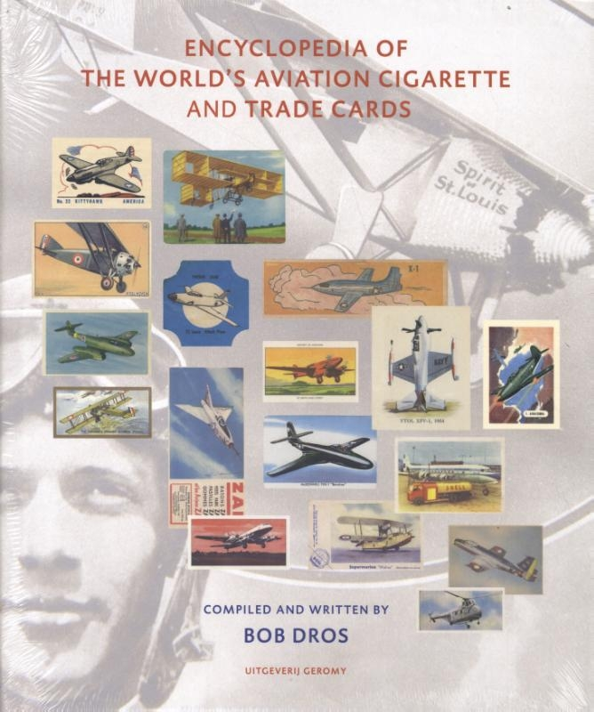 Bob Dros,encyclopedia of the world`s aviation cigarette and trade cards