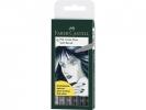 <b>Fc-167806</b>,Faber Castell Tekenstift  Pitt Soft Brusch 6 Stuks