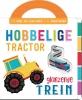 ,<b>Hobbelige tractor, glanzende trein</b>