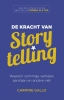 <b>Carmine  Gallo</b>,De kracht van storytelling