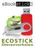 eBookstick-Ecostick Dierenverhalen + Geschenkdoos,Vier ebooks + een luisterboek in mp3 met fascinerende verhalen over dieren voor jong en oud in fraai metalen geschenkverpakking