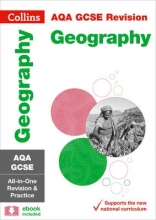 Collins GCSE Grade 9-1 GCSE Geography AQA All-in-One Complete Revision and Practice (with free flashcard download)
