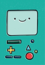 Adventure Time Notepad Bmo
