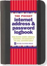 Pocket Internet Address & Password Logbook